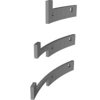 絞りリングの外径が小さい非Ai NikkorのためのAi化フック部品