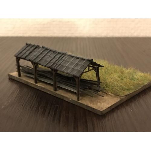 HO/ナローゲージ 稲架小屋