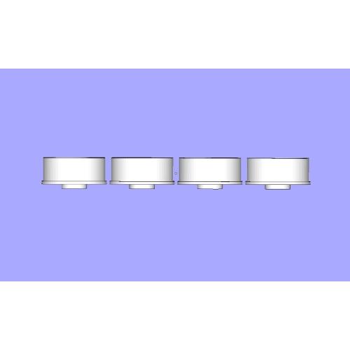 ミニッツMR-03 ナローホイール オフセット1.5 C9タイプ