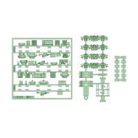 TK-KED02 3452F3連床下機器台車枠セット