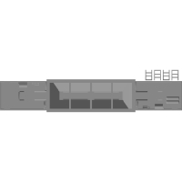 高崎の砂利を運ぶホッパ車GVE196タイプ