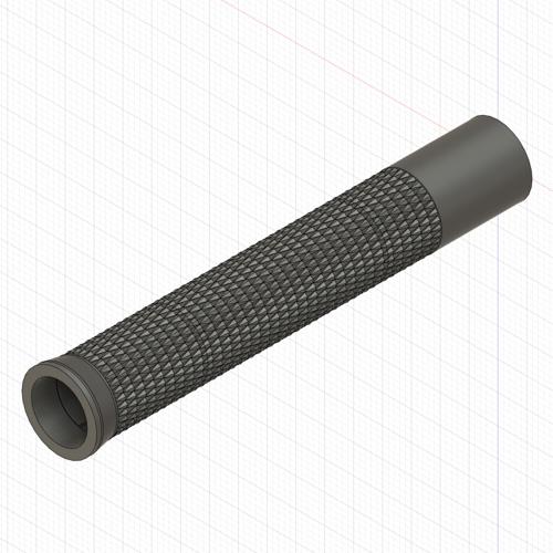 Wacom プロペン2 / プロペン 用替えグリップ (ローレット加工タイプ・ボタン穴なし)