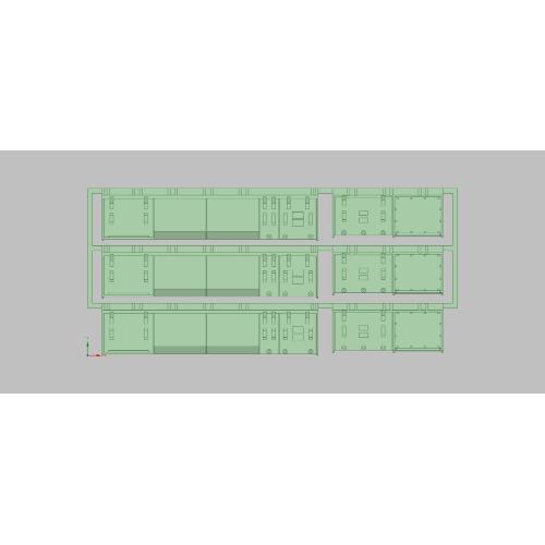 K-201/T-201 E231近郊型 床下セットA(KATO/TOMIX兼用,15連分入)