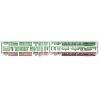 KQ11-21:旧1000形2連(抵抗器初期更新)床下機器【武蔵模型工房 Nゲージ 鉄道模型】