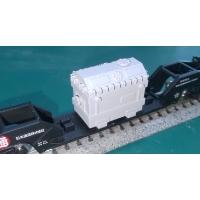 鉄道模型Nゲージ底床式大物車用積荷(変圧器)