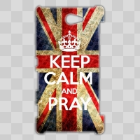■XperiaZL2■ KEEP CALM AND PRAY style 001