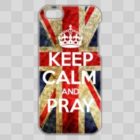 ■iPhone5C■ KEEP CALM AND PRAY style 001