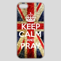 ■iPhone5/5S■ KEEP CALM AND PRAY style 001