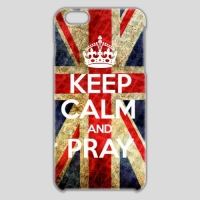 ■iPhone6Plus■ KEEP CALM AND PRAY style 001
