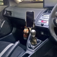 S660 ドリンクホルダー&スマホホルダー取付パーツ(Φ15)