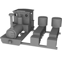 Nナロー 6.5mm Dolgochタイプ機関車 ver.2