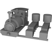 Nナロー 6.5mm Sir Haydnタイプ機関車