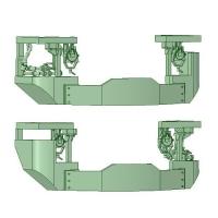 【1/80】205系スカート 鉄道模型HOゲージ