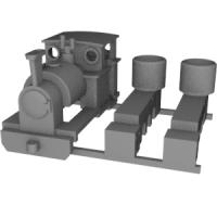 Nナロー 6.5mm Edward Thomas タイプ機関車セット