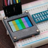 SSD1331 ベゼル (QT095B)