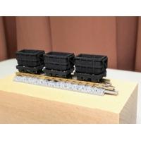 N 9.0mm 鉱山系貨車(Φ4.0mm車輪用) テスト版 6両セット
