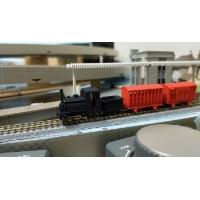 Nナロー 6.5mm Prince 0-4-0ST Tender 機関車タイプセット