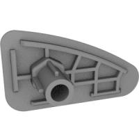 ロータス エリーゼ エキシージ用アクセルペダルエクステンションの右側(チタン出力用)