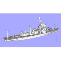 1/700 日本海軍 初代測天型敷設特務艇 加徳 二次大戦時