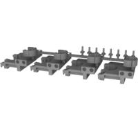 P社製ペーパーキット対応GVE197作業用ライト&カプラーアダプターセット