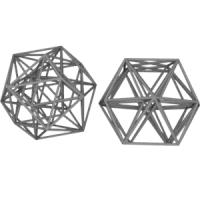 正24胞体(正八角形座標配置と正十二角形座標配置)