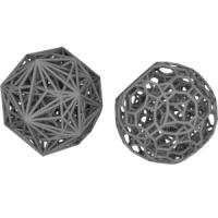 Cantitruncated 24-cellと双対多胞体(正八角形座標配置)
