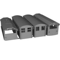 [暫定出品]N 9.0mm 井川線タイプ車両4両セット