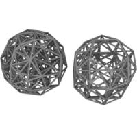 Grand antiprism(二十・十二面体座標配置と正三十角形座標配置)