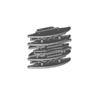 GLA/GLR用 フロントバンパー 6個セット
