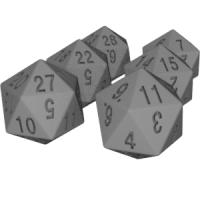 ジッヒャーマンの20面ダイス(その5、その6、その7)