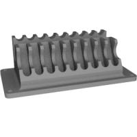 小型旋盤用刃物スタンド
