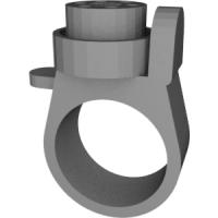 指輪銃の模型