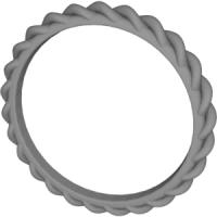スパイラルリング 12号サイズ指輪