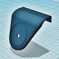 スマホホルダー取付プレート(デミオ/マツダ2)ハードパネル用