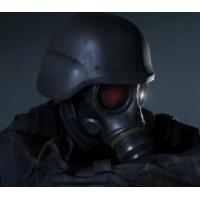 【バイオハザードRE2】 ハンク USS隊員用 ガスマスクアタッチメント FM12