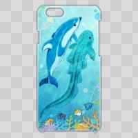 イルカ×サメ【海中ver】 *iPhone6ケース
