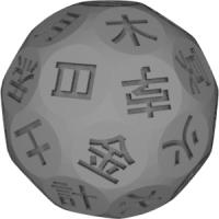 42面ダイス(七政四余)