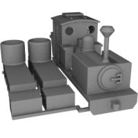 N(9.0mm) 芦別林鉄バグナルタイプ機関車