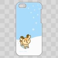 ボク鹿*winter iPhone5C用ケース(Light Blue+クリア)