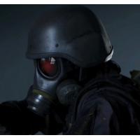 【バイオハザードRE2】 ハンク USS隊員用 FM12 ガスマスク キャニスター