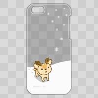 ボク鹿*winter iPhone5C用ケース(クリア)