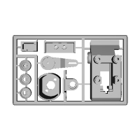 トミーテック1/12ジャイロキャノピー用 RC化ドライブユニット