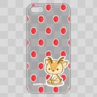 ボク鹿*strawberry iPhone5/5S用ケース(クリア)