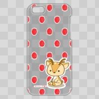 ボク鹿*strawberry iPhone5C用ケース(クリア)