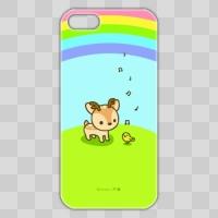 ボク鹿*rainbow iPhone5/5S用ケース(クリア)