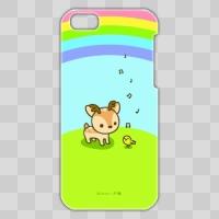 ボク鹿*rainbow iPhone5C用ケース(クリア)