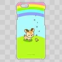 ボク鹿*rainbow iPhone6用ケース(クリア)