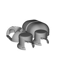 オープン・ミニロボット OMiR-Cover-Parts-V1.0.STL