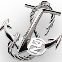 anchor pendant top