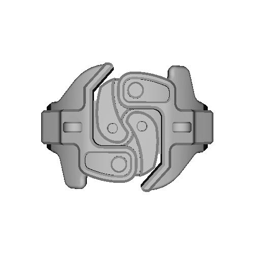 鉄道の連結器(連結)デザインリング 16号